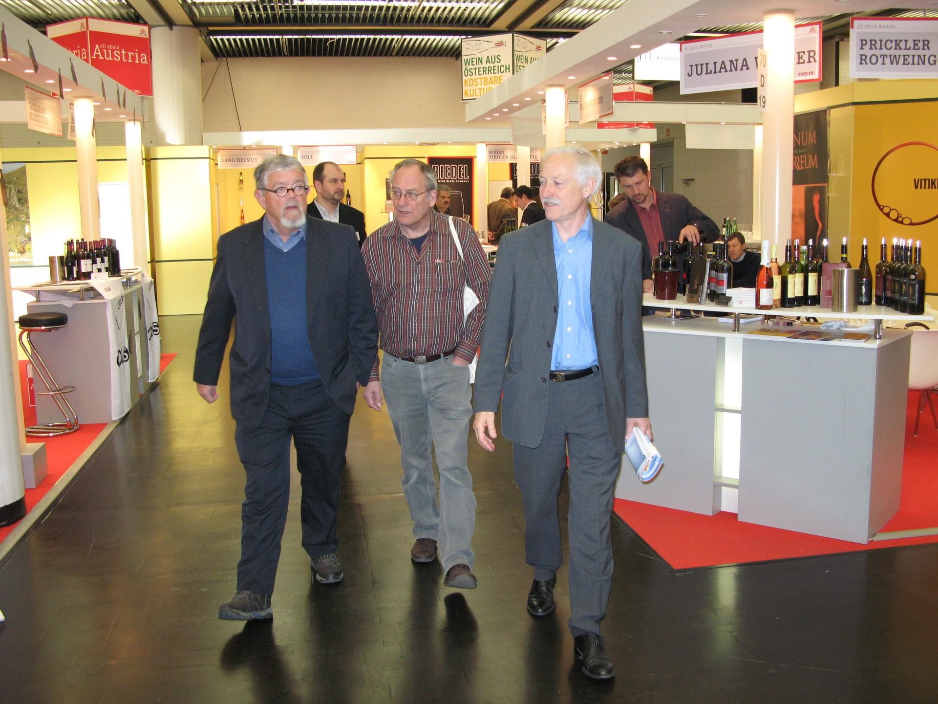 Naar de wijnbeurs in Düsseldorf Maart 2009