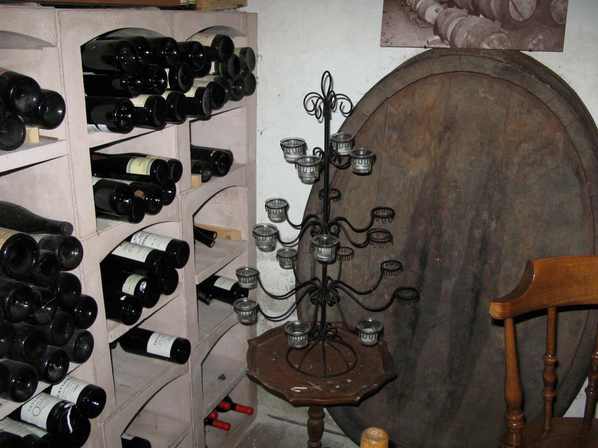 De wijnkelder  - cursuslokaal - proeflokaal