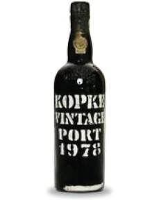 Kopke Vintage Port 1978 0.75 L. Tijdelijk niet leverbaar