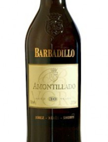 Sherry Barbadillo Prestige-The Winemaker Selection Amontillado V.Q.R.S 30 Years Old