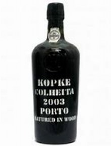 Kopke Colheita Port 0.75 L. 2003 Handpainted