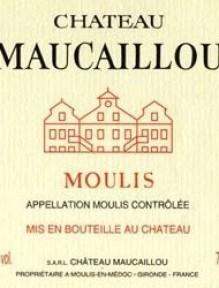 Ch. Maucaillou 2013 0.75 L. Cru Bourgois Exceptionnelle