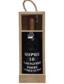 Kopke 10 years White Port aged on wood 0.375 L.  { in draagkist }