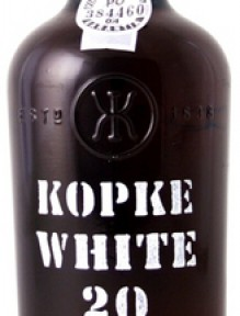 Kopke 20 years White Port aged 0.375 L.   {in draagkist }