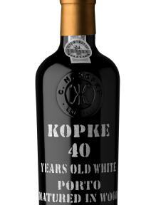 Kopke 40 years White Port aged 0.375 L. {in draagkist }