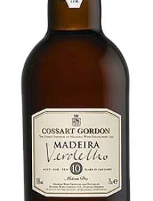 "Madeira Cossart ""Verdelho""Medium Dry 0.75 L. 10 Years Old"