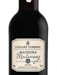 """Madeira Cossart """"Malmsey""""Full Rich  10 Years Old"""